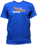Powell's Squirrel T-Shirt (Royal Blue, Men's XX-Large)