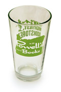 Powell's Pint Glass (Green)