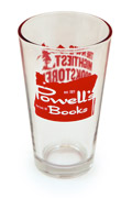 Powell's Pint Glass (Red)