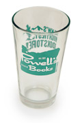 Powell's Pint Glass (Blue)