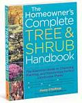 The Homeowner's Complete Tree and Shrub Handbook Signed Edition
