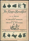 King's Breakfast 1st Edition