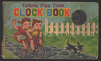 Talking Play Time Clock Book