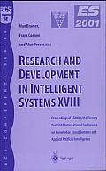 Research and Development in Intelligent Systems XVIII: Proceedings of ES2001, the Twenty-First SGES International Conference on Knowledge Based Systems and Applied Artificial Intelligence, Cambridge,