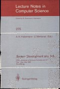 System Development and Ada: CRAI Workshop on Software Factories and Ada, Capri, Italy, May 26-30, 1986, Proceedings