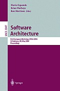 Software Architecture: First European Workshop, EWSA 2004, St Andrews, UK, May 21-22, 2004, Proceedings