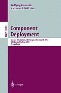 Component Deployment: Second International Working Conference, CD 2004, Edinburgh, UK, May 20-21, 2004, Proceedings