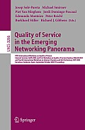 Quality of Service in the Emerging Networking Panorama: 5th International Workshop on Quality of Future Internet Services, QofIS 2004, and WQoSR 2004 and ICQT 2004, Barcelona, Spain, September 29- Oct