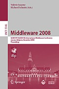 Middleware 2008: ACM/IFIP/USENIX 9th International Middleware Conference Leuven, Belgium, December 1-5, 2008 Proceedings