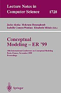 Conceptual Modeling ER'99: 18th International Conference on Conceptual Modeling Paris, France, November 15-18, 1999 Proceedings