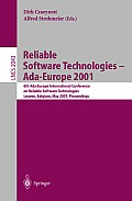 Reliable Software Technologies - Ada-Europe 2001: 6th Ada-Europe International Conference on Reliable Software Technologies Leuven, Belgium, May 14-18, 2001 Proceedings Cover