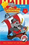 Benjamin Blümchen 041 Als Pirat. Cassette