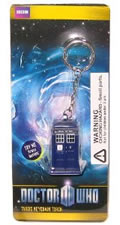 Doctor Who TARDIS Flashlight Keychain