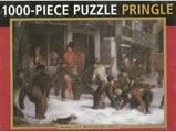 Snowball Fight by William J. Pringle 1000 Piece Jigsaw Puzzle
