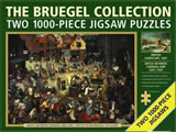 1000 Piece Jigsaw Puzzle Bruegel Collection (Double)