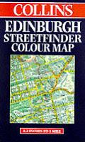 Collins Edinburgh Streetfinder Map
