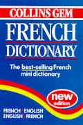 Collins Gem French Dictionary: French-English/English-French