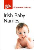 Collins Gem Irish Babies' Names: Meanings, Pronounciation and Spellings (Collins Gem)