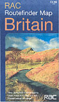 Rac Routefinder Map Britain