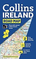Collins Road Map Ireland