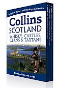 Collins Scotland: Maps & Guides of Whisky, Castles, Clans & Tartans (Collins Pictorial Maps)