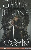 A Game of Thrones. George R.R. Martin Cover