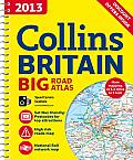 Collins Big Road Atlas Britain (Collins Britain Big Road Atlas) Cover