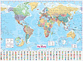 Collins the World: Paper Wall Map