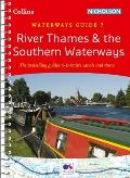 Collins/Nicholson Waterways Guides #7: River Thames & the Southern Waterways: Waterways Guide 7