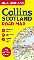 2014 Collins Scotland Road Map