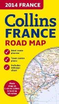 2014 Collins France Road Map