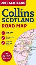 Collins Scotland Road Map