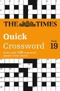 The Times Quick Crossword Book 19