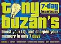Tony Buzan's 7-Day Brain Boost Pack