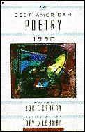 Best American Poetry 1990