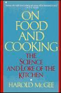 On Food & Cooking The Science & Lore