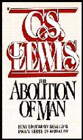 Abolition of Man Cover
