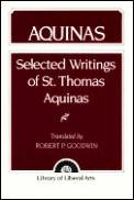 Selected Writings Of St Thomas Aquinas