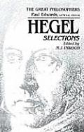 Hegel Selections The Great Philosophers Series