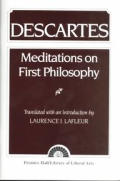Descartes : Meditations on First Philosophy (51 Edition) Cover