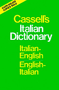 Cassells Italian Dictionary Italian English English Italian