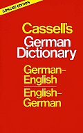 Cassells Concise German English English German Dictionary