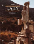 Latin for Americans Workbook 2 Cover