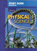 Study Guide, Student Edition for Use with Physical Science