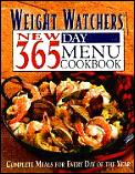 Weight Watchers New 365 Day Menu Cookbook