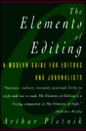 Elements Of Editing A Modern Guide For Editors & Journalists