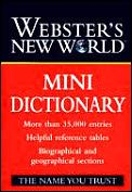 Websters New World Mini Dictionary