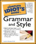 Complete Idiot's Guide to Grammar & Style (Complete Idiot's Guides) Cover