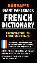 Harrap's Giant Paperback French Dictionary