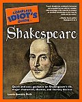 Complete Idiot's Guide to Shakespeare (Complete Idiot's Guides) Cover